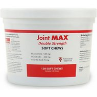 Joint MAX Double Strength Soft Chews for Dogs, 120 count