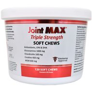 Joint MAX Triple Strength Soft Chews for Dogs, 120 count