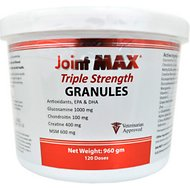 Joint MAX Triple Strength Granules for Dogs, 120 doses