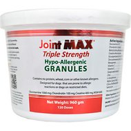 Joint MAX Triple Strength Hypo-Allergenic Granules for Dogs, 120 doses