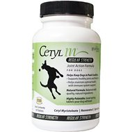 Response Products Cetyl M Regular Strength Joint Action Formula Tablets Dog Supplement, 60 count