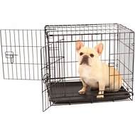 Carlson Pet Products Secure & Compact Double Door Wire Dog Crate, Small