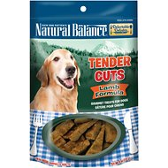 Natural Balance Delectable Delights Lamb Formula Tender Cuts Dog Treats, 4-oz bag