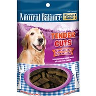 Natural Balance Delectable Delights Venison Formula Tender Cuts Dog Treats, 4-oz bag
