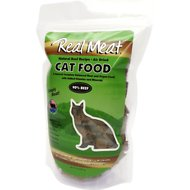 The Real Meat Company 90% Beef Grain-Free Air-Dried Cat Food, 14-oz bag