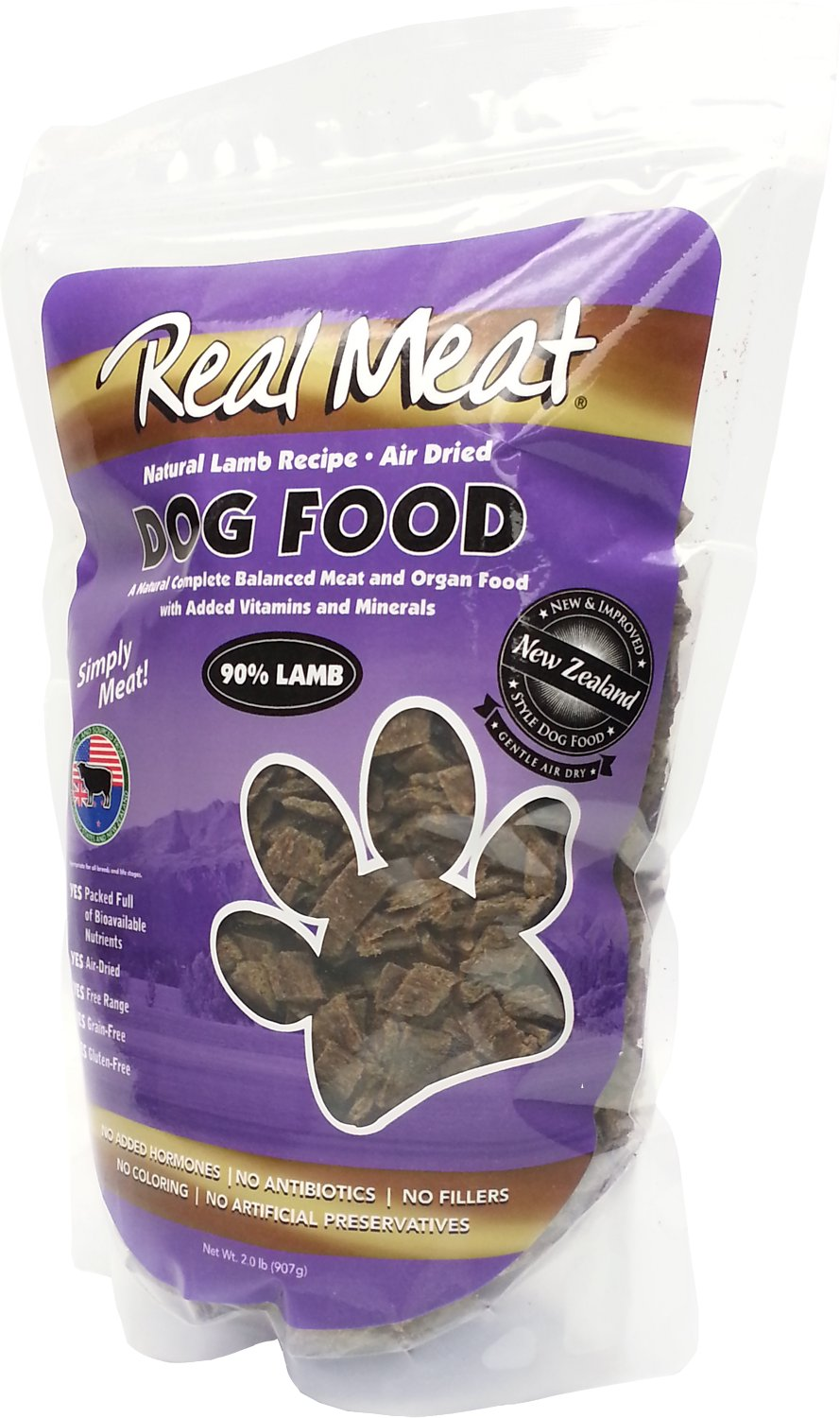 The Real Meat Company  Lamb Grain Free Air Dried Dog Food