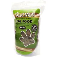 The Real Meat Company 90% Beef Grain-Free Air-Dried Dog Food, 2-lb bag