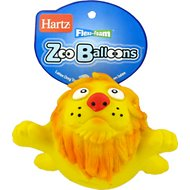 Hartz Zoo Balloons Dog Toy
