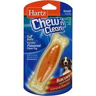 Hartz Chew 'n Clean Tuff Bone Dog Toy, Small