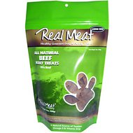 The Real Meat Company 95% Beef Jerky Bitz Dog Treats, 12-oz bag