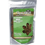 The Real Meat Company 95% Beef Jerky Stix Dog Treats, 8-oz bag