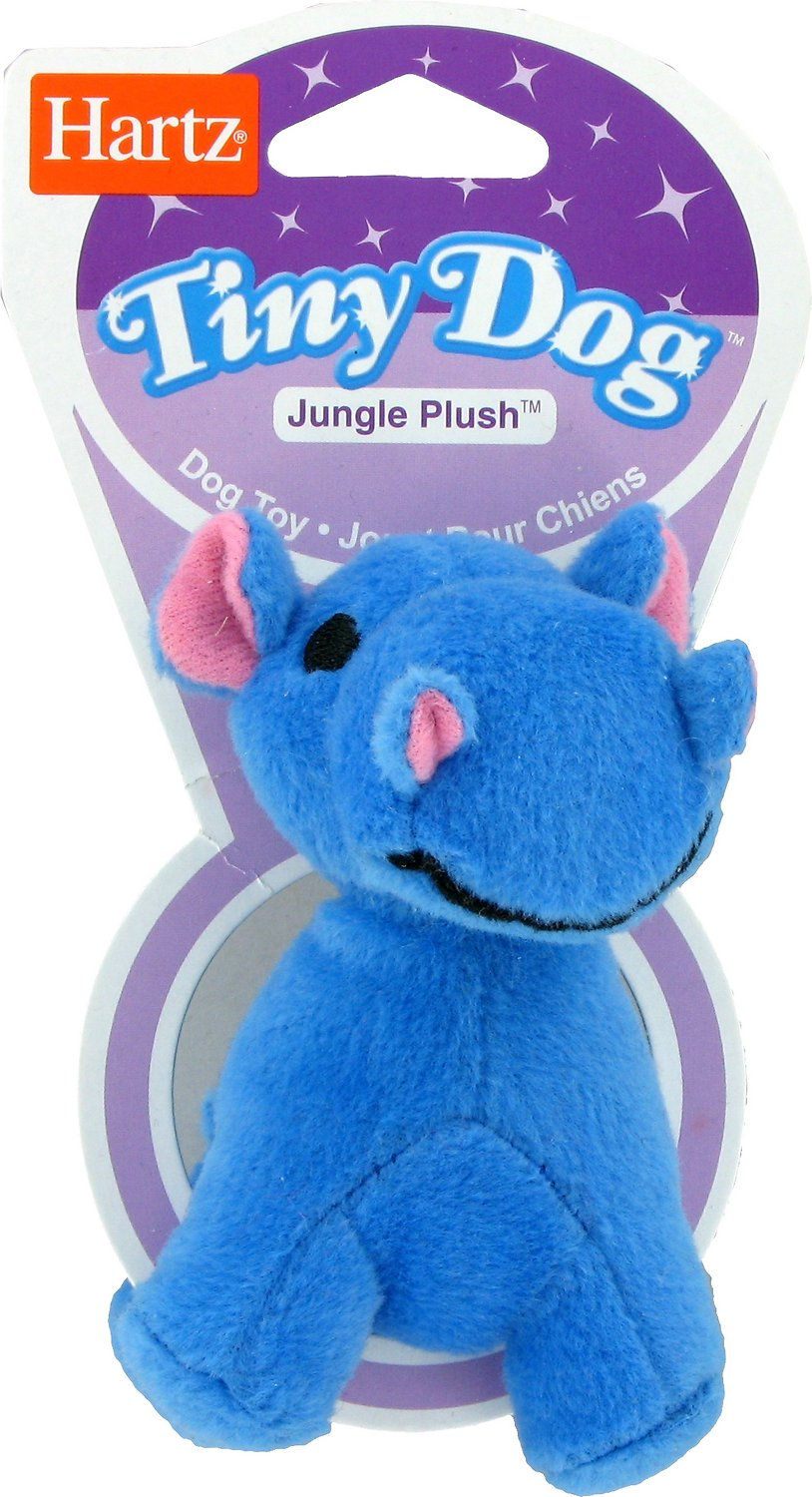 Hartz Tiny Dog Jungle Plush Dog Toy Chewy Com