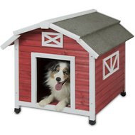 Precision Pet Products Old Red Barn Dog House, Large