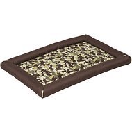 Precision Pet Products SnooZZy Durable Crate Mat for Dogs, Brown Camo, Large
