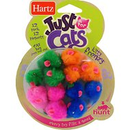 Hartz Just for Cats Kitty Frenzy Cat Toy, 12 count