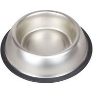 Van Ness Stainless Steel Non-Tip Pet Bowl, 64-oz dish