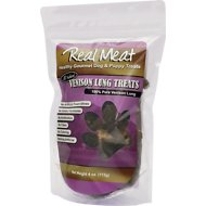 The Real Meat Company Venison Lung Crunchies Air-Dried Dog Treats, 4-oz bag