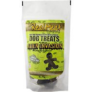 The Real Meat Company Beef & Oatmeal Recipe with Spinach Alien Invasion Dog Treats, 16-oz bag