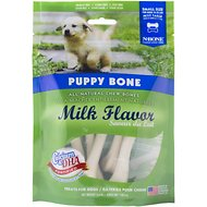 N-Bone Puppy Bone Milk Flavor Dog Treats, Small