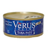 VeRUS Tuna Pate Grain-Free Canned Cat Food, 5.5-oz, case of 24