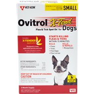Ovitrol X-Tend Flea & Tick Spot On for Dogs, 3 treatments, 13-31 lbs