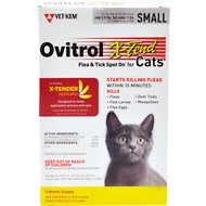 Ovitrol X-Tend Flea & Tick Spot On for Small Cats (2.5-5-lbs) 3 treatments