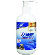Oratene Brushless Oral Care Water Additive for Dogs & Cats, 8-oz bottle