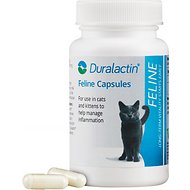 Duralactin Feline Capsules Cat Supplement, 60 count