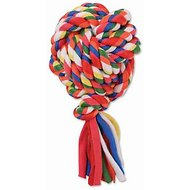 Mammoth Cloth Rope Monkey Fist Ball for Dogs, Color Varies, Small