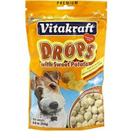 Vitakraft Drops with Sweet Potato Dog Treats, 8.8-oz bag