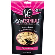 Vital Essentials Chicken Breast Freeze-Dried Raw Dog Treats, 2.1-oz bag