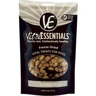 Vital Essentials Rabbit Bites Freeze-Dried Raw Dog Treats, 2-oz bag