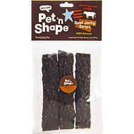Pet 'n Shape Beef Jerky Strips Dog Treats, 6 count, Medium