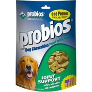 Probios Joint Support Peanut Butter Flavor Chewables Dog Supplement, 1-lb bag