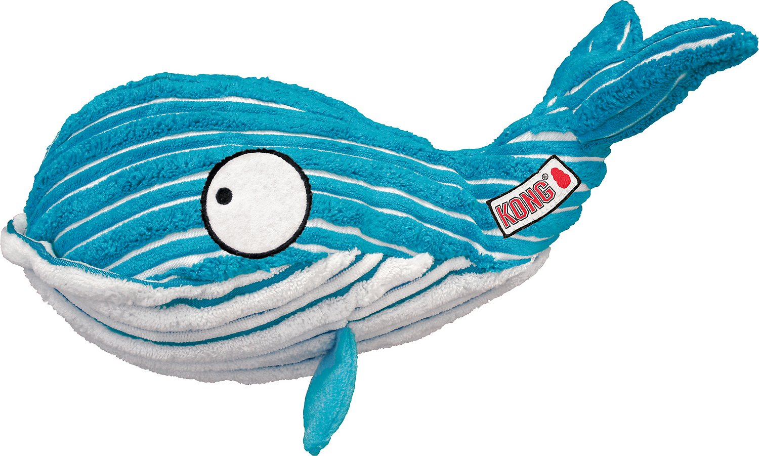 Kong Cuteseas Whale Dog Toy Small Chewy Com