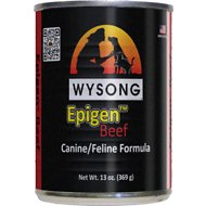 Wysong Epigen Beef Formula Canned  Dog, Cat & Ferret Food, 13-oz, case of 12