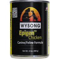 Wysong Epigen Chicken Formula Grain-Free Canned  Dog, Cat & Ferret Food, 13-oz, case of 12