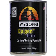 Wysong Epigen Duck Formula Grain-Free Canned  Dog, Cat & Ferret Food, 13-oz, case 12