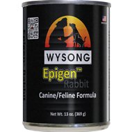 Wysong Epigen Rabbit Formula Grain-Free Canned  Dog, Cat & Ferret Food, 13-oz, case of 12
