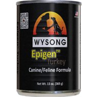 Wysong Epigen Turkey Formula Grain-Free Canned  Dog, Cat & Ferret Food, 13-oz, case of 12