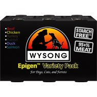 Wysong Epigen Variety Pack Canned  Dog, Cat & Ferret Food, 13-oz, case of 6