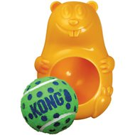 KONG Tennis Pals Beaver Dog Toy, Color Varies, Large