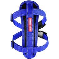 EzyDog Chest Plate Dog Harness, Blue, X-Large