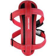 EzyDog Chest Plate Dog Harness, Red, Large