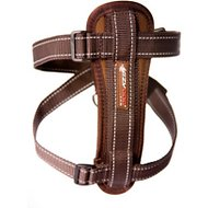 EzyDog Chest Plate Dog Harness, Chocolate, Large