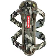 EzyDog Chest Plate Dog Harness, Green Camo, Large