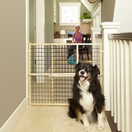 MyPet Extra Wide Wire Mesh Gate for Dogs & Cats