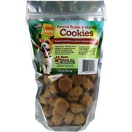 Ultra Chewy Peanut Butter & Honey Cookies Dog Treats, 10-oz bag