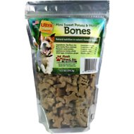 Ultra Chewy Mini Sweet Potato & Honey Bones Dog Treats, 12.5-oz bag