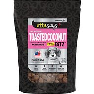 Etta Says! Toasted Coconut Little Bitz Dog Treats, 5.5-oz bag